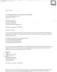now a couple of months had passed and i did not hear back further from nationwide finally i received a letter dated april 5 2004 from john c at the