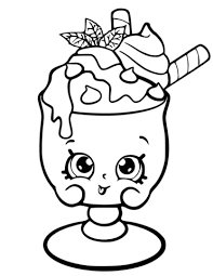 Free Printable Shopkins Coloring Pages 81 Images In Collection Page 3