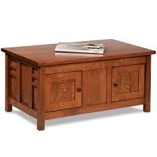 kascade coffee table cabinet with optional lift top