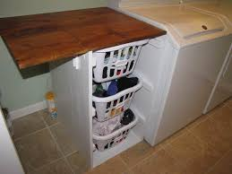 diy laundry room folding table