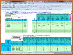 Scheduling Spreadsheet Free Sheet Employee Schedule Excel