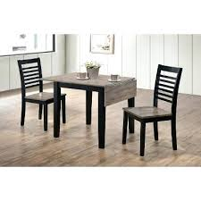 round drop leaf dining table with extra leaves drop leaf dining room table ebony and gray