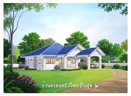 enchanting thai style house plans amazing design ideas ranch with basement floor wooden