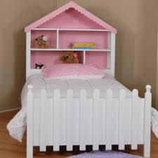girls room playful bedroom furniture kids: playful safe and comfortable kids rooms decorating ideas cozy girls bed
