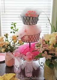 Vintage Baby Shower Decoration Vintage Pink Sage Ruffles Baby Shower Cake Rose Bakes