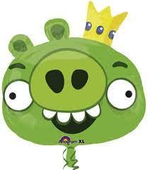 Amscan International Super/Form Angry Birds King Pig Party Zubehör:  Amazon.de: Spielzeug
