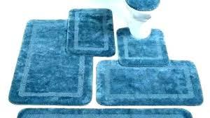 navy blue bath rugs target sets brown rug set light bathroom mat large