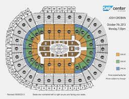 Competent Xcel Energy Seating Chart General Hp Pavilion San