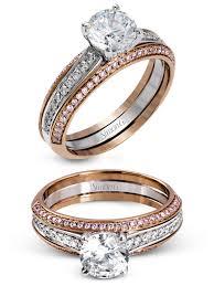 simon g jewelry 2017 wedding trends diamond enement ring mr2713 white gold rose gold pink diamonds