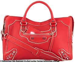 1 1 balenciaga fake highlight city red leather satchel balenciaga city bag