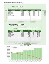 38 Debt Snowball Spreadsheets Forms Calculators