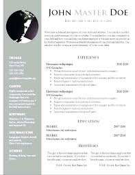 Bio Data Resume Sample Free Professional Format Template