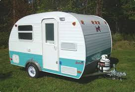 Small Picture Serro Scotty Scotty Pup small travel trailer exterior Vintage