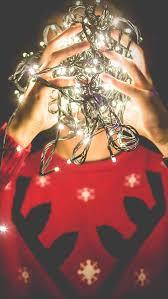 christmas lights wallpaper iphone 5. Beautiful Iphone Christmas Lights Reindeer Sweater IPhone 5 Wallpaper Inside Iphone N