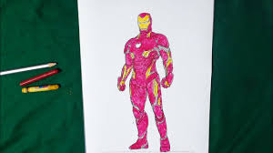 A collection of the top 60 iron man suits wallpapers and backgrounds available for download for free. Iron Man From The Avengers Infinity War Coloring Pages Sailany Coloring Kids Youtube