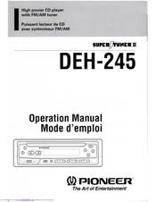 pioneer deh 245 wiring diagram pioneer wiring diagrams pioneer deh 245 manuals description pioneer deh wiring diagram