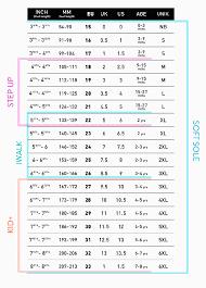 bobux sizing chart