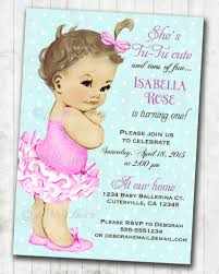 Birthday 1st Birthday Invitation Message Examples Format Of A