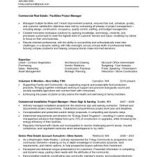 Sample Resume Of Sales Manager In Real Estate Valid Mercial Property