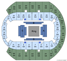64 Actual Pacific Coliseum Lady Antebellum Seating Chart