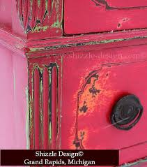 distressed furniture ideas. fireworks red shizzle design paint studio american company highboy blue green chalk clay dresser distressed furniture ideas