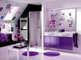 Purple Themed Bathroom Accessories Splendid Impressive Bathroom Designs Purple Interior
