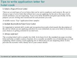 Cover Letter Sample For Cook Cook Cover Letter Line Cook Cover