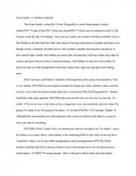 great gatsby in comparison to catcher in the rye term papers zoom