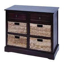 Wicker Basket Cabinet Mastercraft Basket Cabinet With 4 Wicker Baskets Products