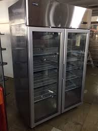 quipwell double glass door fridges