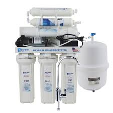 6 stage under sink reverse osmosis drinking water filtration system with alkaline remineralization filter