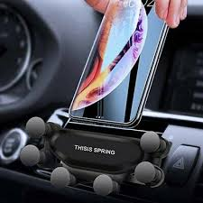 <b>Gocomma Auto-clamping Car Gravity</b> Phone Holder - Black | eBay