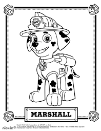 Cooloring Book Paw Patrol Free To Color For Kids Coloring Pages