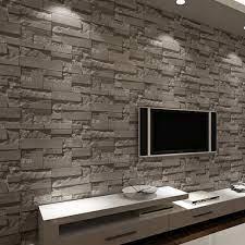 Stone wall interior design