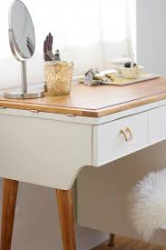 how to make a diy makeup vanity table from an old sewing table homedecor