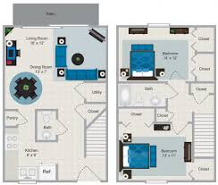 Modern 2 Bedroom House Plans Home Design Planner Decor Small 2 Bedroom House Plans Bedroom