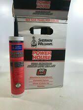 4 Sherwin Williams Powerhouse 1100a Siliconized Acrylic