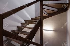 Simple Wood Stairs Design Image Of Modern Design Simple Wooden Staircase