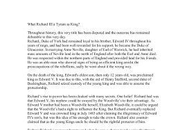 example of richard iii essay topics you can only upload files of type 3gp 3gpp mp4 mov avi mpg mpeg or rm i write in the king richard iii essay