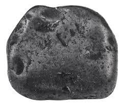 Piedra preciosa shungite