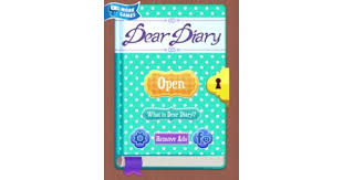 <b>Dear Diary</b> - An Interactive Story About Anna's Secrets App Review