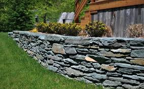 stackable stone retaining wall dry stacked stone retaining wall cost