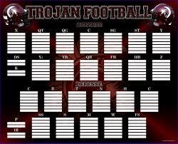 Depth Chart Template Excel 10 Football Depth Chart Template Excel Exceltemplates