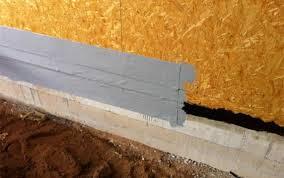 Sockelabdichtung Im Holzbau Mit Optimalen Dampfdiffusionswerten
