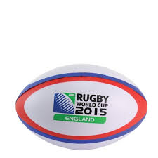 promotional mini rugby stress shape dual colour white red and blue