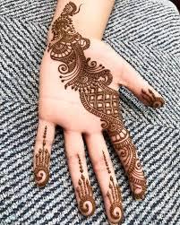 Arabic Mehndi Designs For Right Hand Top 110 Arabic Mehndi Designs Shaadisaga