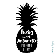 black and white pineapple png. pineapple silhouette #146 black and white png
