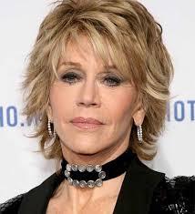 Coupe Cheveux Femme 50 Ans Visage Rond Jane Fonda En 2019