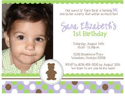 full size of 1st birthday invitation sle cards wording text no gifts