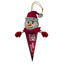 Crimson Tide Christmas Lights Ncaa Alabama Crimson Tide 5 Light Up Snowman Pennant Ornament